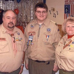 Caribou Troop 184 gains three new Eagle Scouts