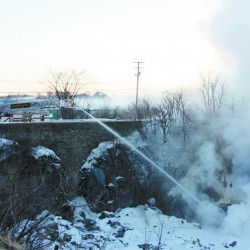 Rockland now burning off dump odors