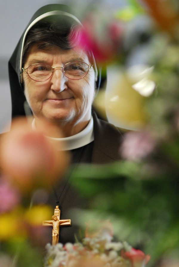 Sister Mary Norberta, CEO of St. Joseph Healthcare