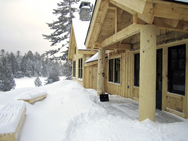Gorman Chairback Lodge opened Jan. 27 and is the newest link in the Appalachian Mountain Club's lodge-to-lodge cross-country ski network in Greenville. On the shore of Long Pond, the lodge, bunkhouse and eight cabins are surrounded by 66,000 acres of AMC-owned conserved wilderness.