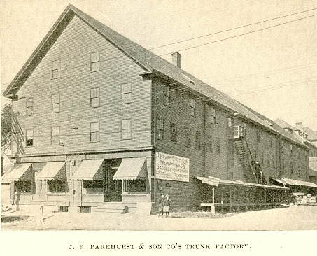 The J.F. Parkhurst & Son Factory.