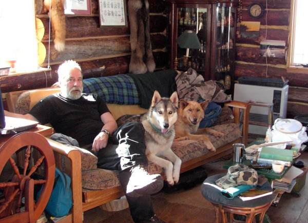 Don and Jan Woodruff share their Eagle, Alaska, home and furniture with their kennel of working sled dogs.