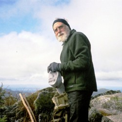 "J.R. ""Model-T"" Tate, in 2006, on the Hunt Trail on Katahdin finished his fourth thru-hike of the Appalachian Trail on September 30. His advice for planning a thru-hike is ""For the first hike it's critical. In 1990, I began planning  six months ahead of the hike,"" he said recently."