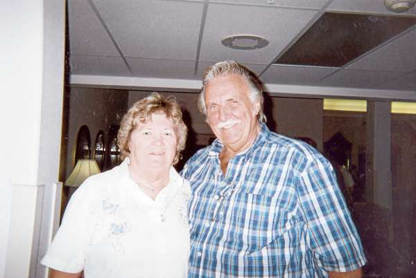 Kathy Hall (left) and Willy Hall of Bucksport. Willy passed away on March 1, 2011. He was a huge county music fan.