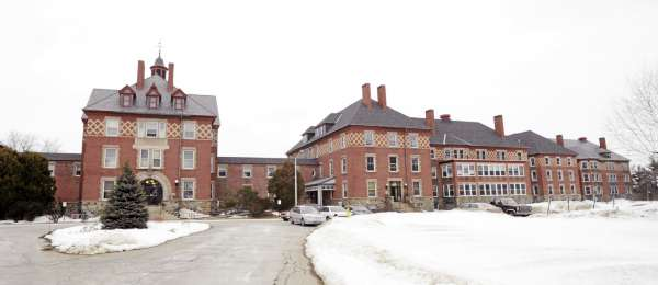 The Dorothea Dix Psychiatric Center in Bangor.