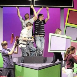 UMaine troupe's comedic 'Scapin' delivers the goods