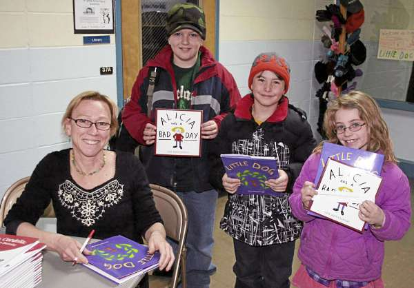 Children's author Lynn Plourde makes reading fun for Bangor students, families