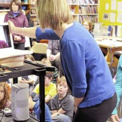 Sen. Susan Collins visits classroom on Skype