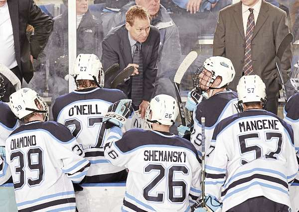 University of Maine men's hockey coach Tim Whitehead has three years remaining on his contract, but he needs to get the Black Bears back into the NCAA tournament in order to expect another extension. Maine has not made that postseason trip since 2007.