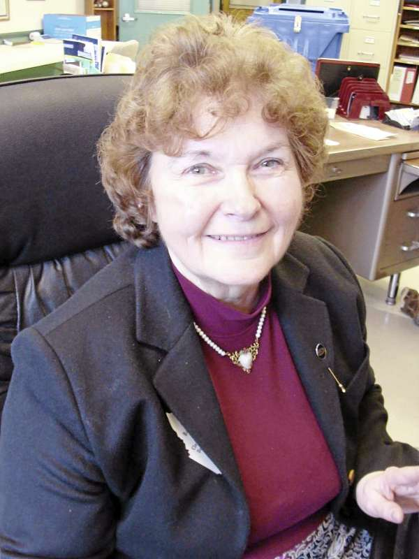 Barbara Moore retired Friday as Dover-Foxcroft's town clerk, treasurer and registrar of voters after working for the town for 29 years. She was feted with an open house Friday afternoon.