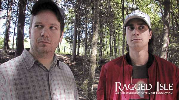 "Doug Porter and Dominic Lavoie star in ""Ragged Isle"""