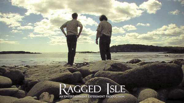 "A still from an episode of ""Ragged Isle"""