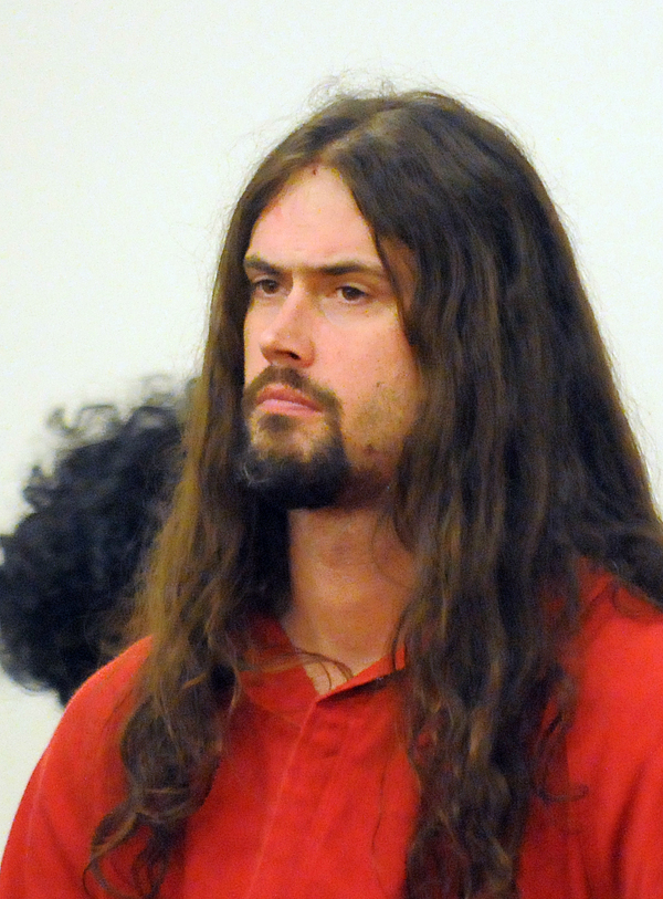 Andrew Borg during his first court appearance at the Penobscot Judicial Center in Bangor in Dec. 2010.