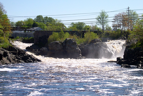 Bad Little falls in Machias in 2005.