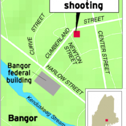 Bangor teen points gun at another, police say