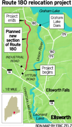 State to reroute 180 through Ellsworth