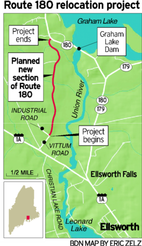 New road opens in Ellsworth
