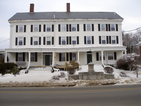 The Jed Prouty Inn in Bucksport has been vacant for several years.