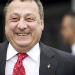 In first episode of LePage's new TV show, governor talks Maine movies