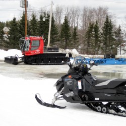 Weather conditions close down snowmobile trails in Aroostook County