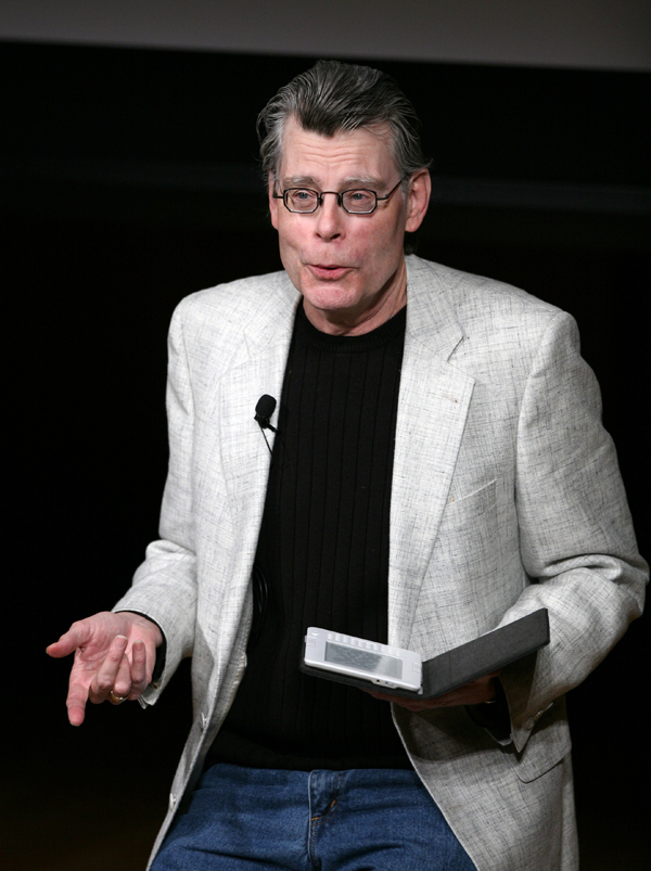 Author, Stephen King