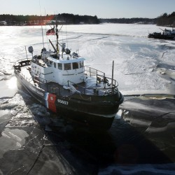 No ice found during Kennebec River ice-breaking mission