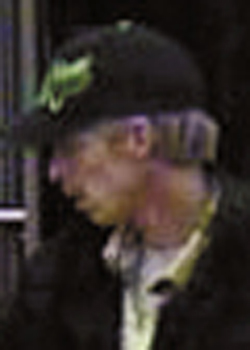 The suspect is described as a male, approximately 5â??5â?, 35-50 years old.