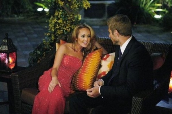 Ashley Hebert and Brad Womack appear in &quotBachelor 2011.&quot