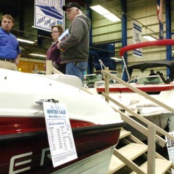 Deals, kids' fishing at boat show