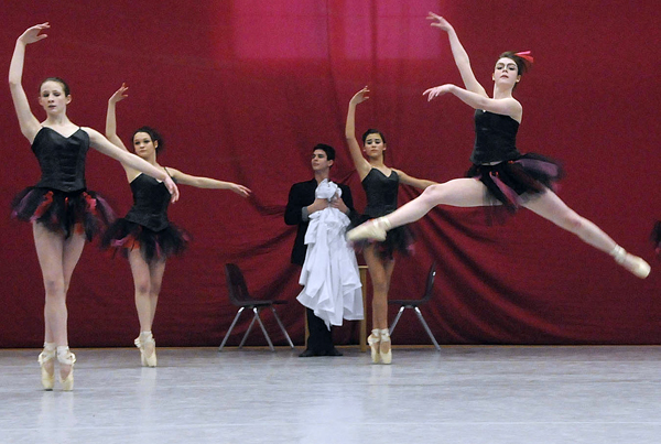 Students with the esteemed Bossov Ballet, a ballet school based at Maine Central Institute in Pittsfield, performed early Friday evening as part of the ballet's 15th anniversary.