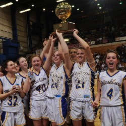 Worcester leads Washburn girls to second straight Class D title