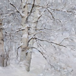 Maine artist Mathew O'Donnell's paintings on display at Bangor Public Library