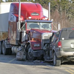 Owls Head woman injured in tractor-trailer crash out of hospital