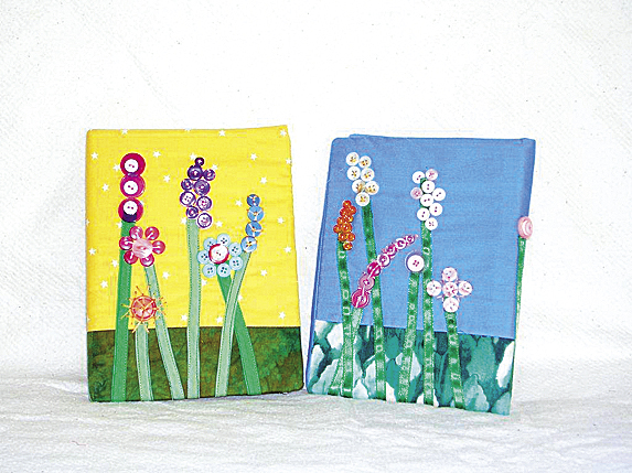 Carol Boyer, artisan, quilt maker, soft sculpture and doll designer and creator will offer a Fabric Arts Journal Cover workshop 9 a.m.-3 p.m. Friday, April 8, at the Lions' Club, Lions Lane, Camden. Participants will learn how to construct a fabric arts cover for a simple notebook. The workshop will be sponsored by the Coastal Quilters quilt group.