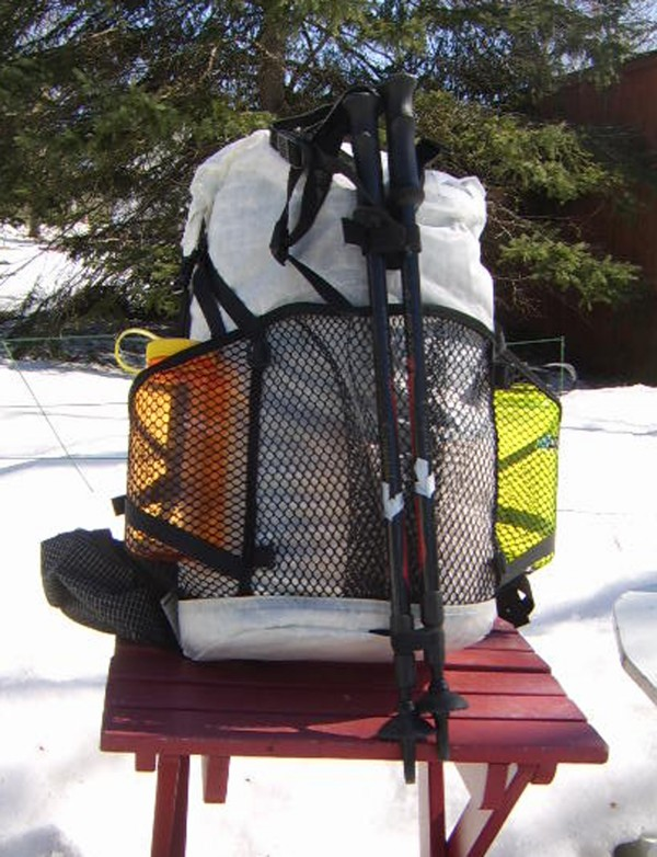 The Windrider pack by Hyperlite Mountain Gear, a small business in Kennebunk, has been recognized by Backpacker Magazine's editors with the choice award for the best ultralight pack.