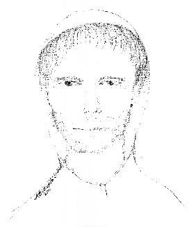 Anyone who recognizes the person depicted in the sketch is urged to call the Hampden Police Department at 862-4000.