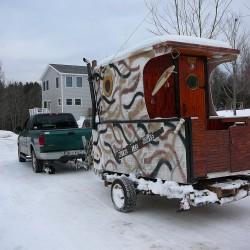 Show us your ice shack — it might be worth $1,000