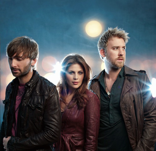 Country music group Lady Antebellum will perform at the Bangor Waterfront on Monday, Sept. 5. The trio features (from left) Dave Haywood on back-ground vocals, guitar, piano and mandolin; Hillary Scott on lead and background vocals; and Charles Kelley on lead vocals and lead guitar.
