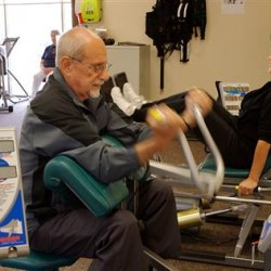 Seniors hit the gym to stay healthy