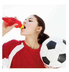 Teens may associate sweetened sport drinks with healthy activities and diets, but these beverages are no better for them than soda.