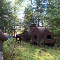 How to see 'Ghost Trains' deep in the Maine woods