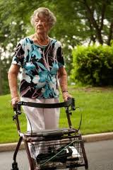 Advancing age may call for adaptations in physical activity. A sturdy walker can help seniors maintain their balance and posture while promoting walking as a healthful exercise.