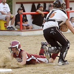 Nickerson, Houp lead Brewer softball team past Cony