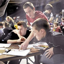 Bangor High math team tops in state