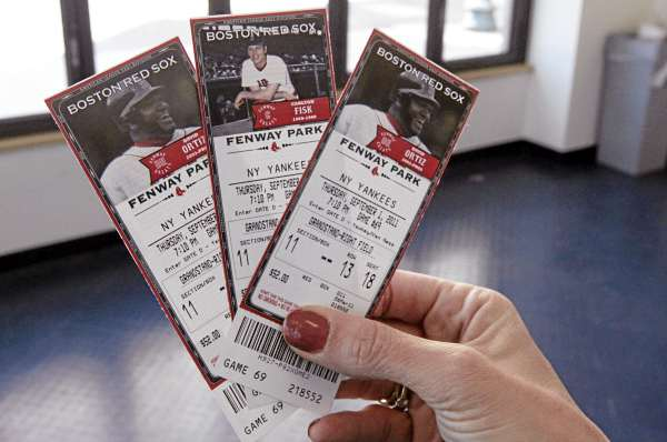 A week before opening day, 85 percent of this season's Red Sox tickets were already sold.
