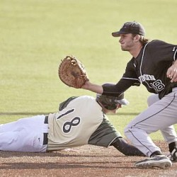 Vanidestine, Crews shine in postseason for Husson baseball team