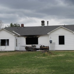 Fire destroys family's Pittsfield home
