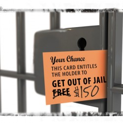 Bail commissioners are paid by defendants whose freedom they control