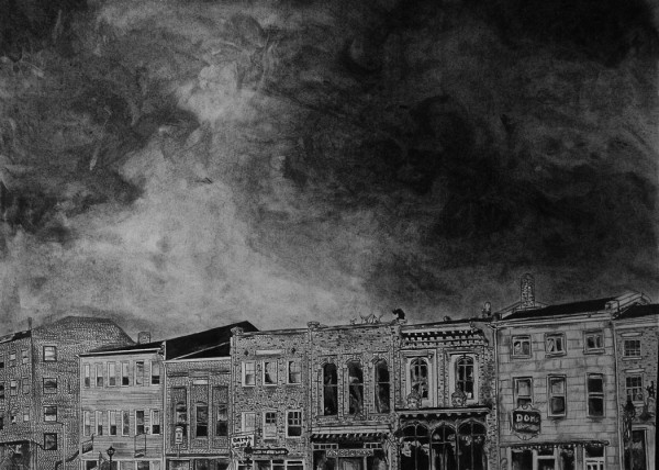 """Hallowell,"" Whitney Wei, Hall-Dale High School, winner of 2011 Congressional Arts Competition"