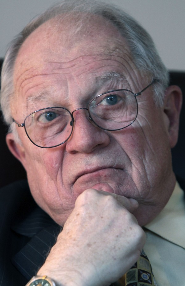 Legal expert F. Lee Bailey is seen in January 2011. Bailey will speak at 1 p.m. Friday, April 29, at the Gracie Theatre at Husson University.